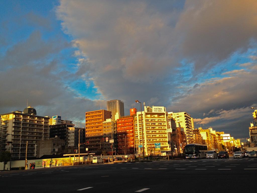 大阪西区長堀通り