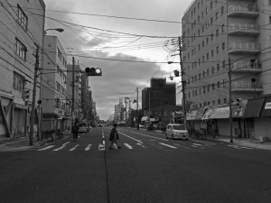 大阪西成萩之茶屋を歩く